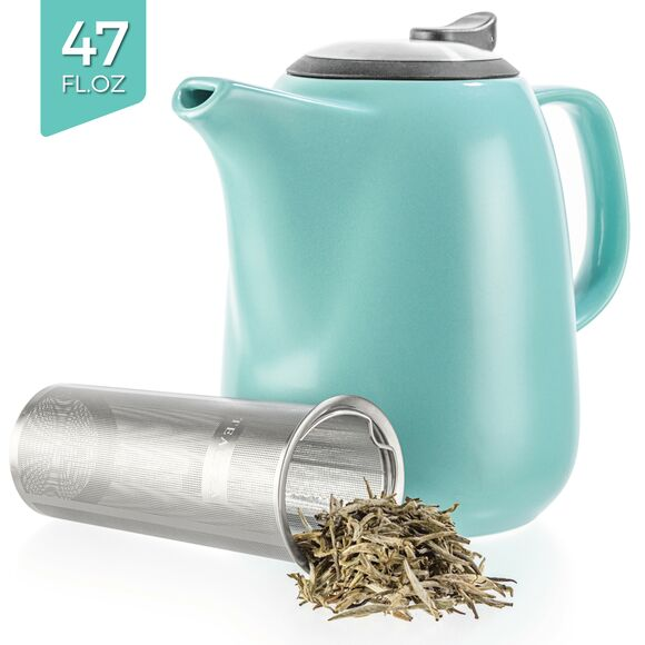 Daze Ceramic Teapot 47oz