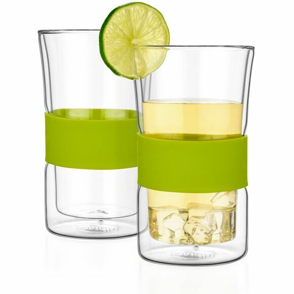 Gemini Double Walled Glasses, Set of 4