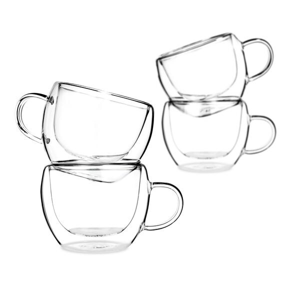 Universe Double Wall Glasses, Set of 4
