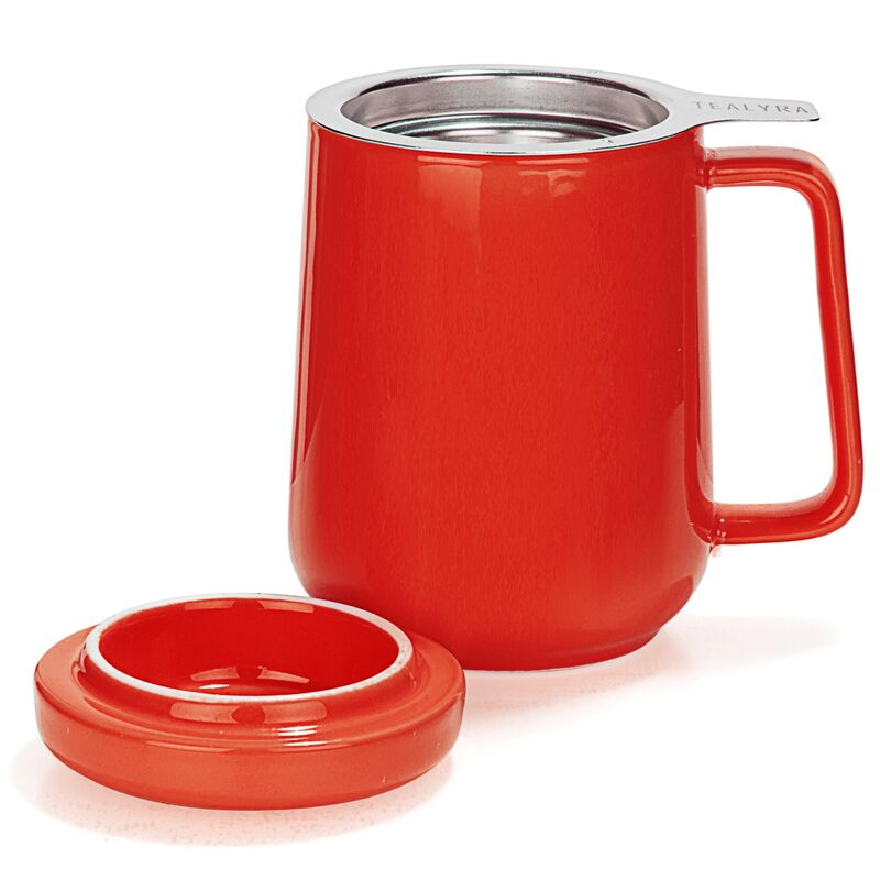 Peak Mug à Thé Infuseur en Cérmique 580ml