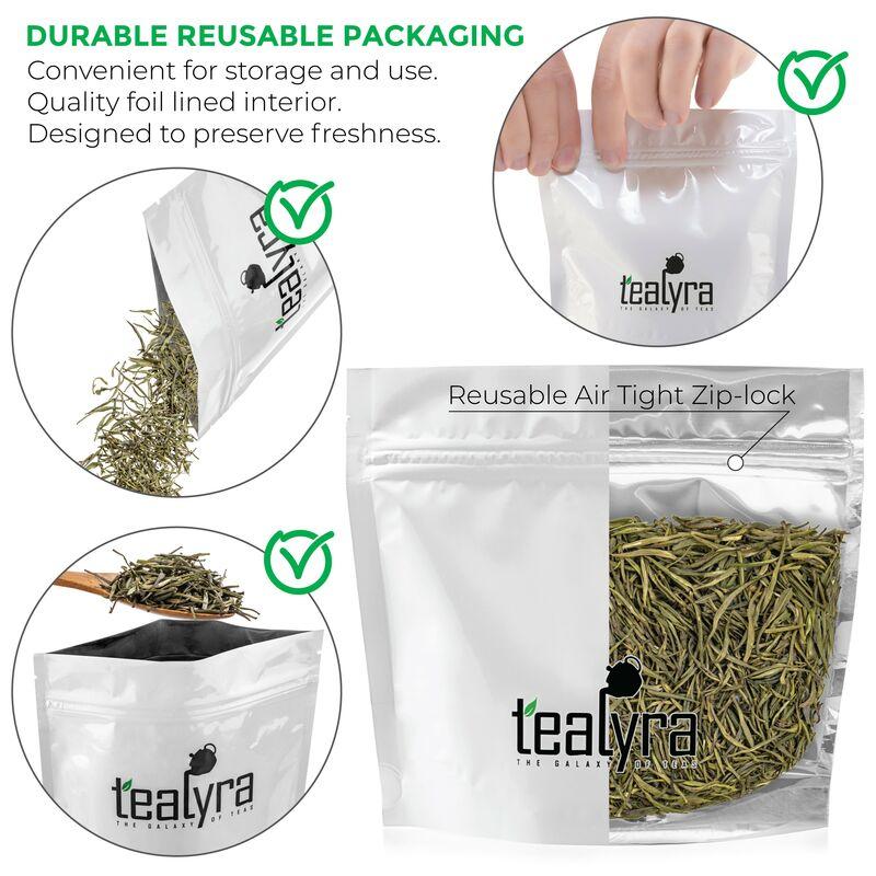 thé vert chinois au jasmin