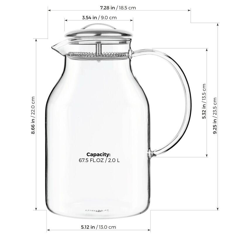 Carafe en verre Jumbo 67,7 Fl. oz