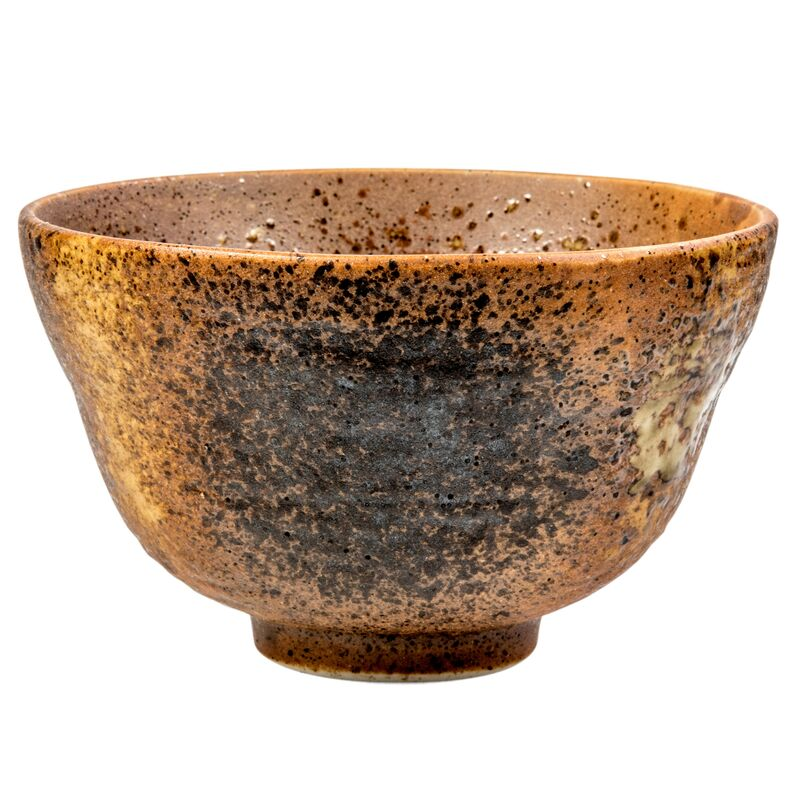 Matcha Golden Earthenware Chawan